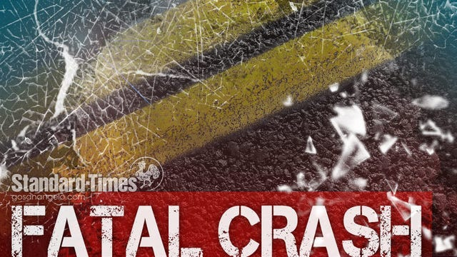 A single-vehicle crash left a Florida man dead and two others injured, according to a news release from the Department of Public Safety.