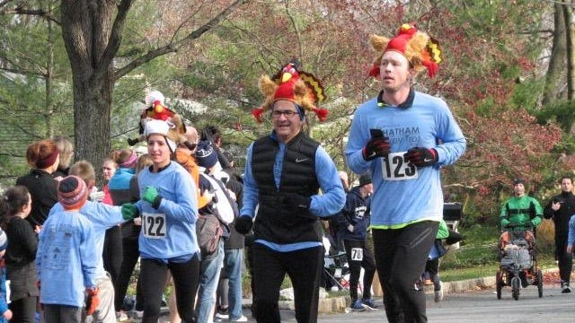 Runners typically get creative for the annual Chatham Turkey Trot, which raises money for a variety of local organizations.
