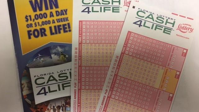 The Cash4Life jackpot winner gets $1,000 a day for life. Victor Franzese, of Port St. Lucie, claimed the second-place prize, earning $1,000 a week for life in the Jan. 8 drawing.