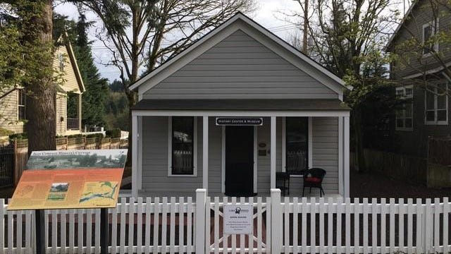 Oregon's newest, and possibly smallest museum, is housed in the city-owned Iron Company Worker's Cottage in Lake Oswego's Old Town Neighborhood.