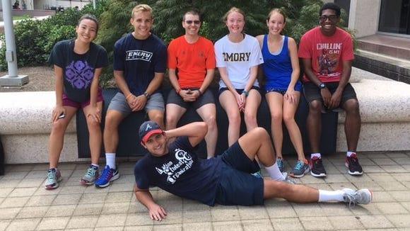 patrick cafferty students emory run