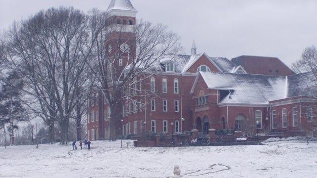 Tillman Hall on the campus of Clemson University.