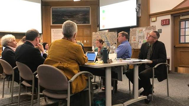 In the last Ames Plan 2040 workshop session, Ames City Council, RDG Planning and Design and city staff evaluated growth scenarios for the project. On Tuesday, a more clear direction for the comprehensive plan was outlined. Ames Tribune file photo.