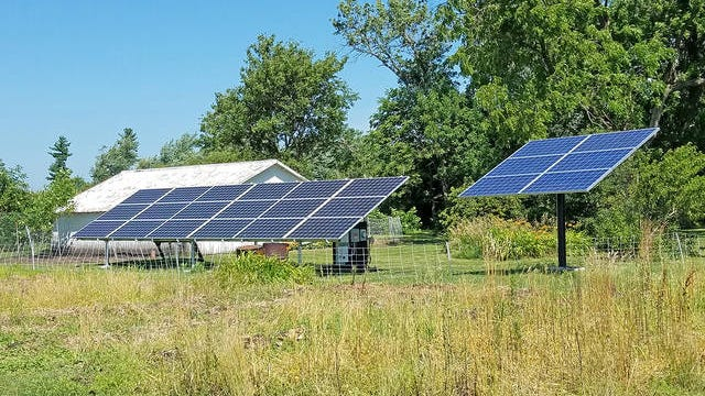 After three years of work on the project, the city of Ames will break ground on its community solar system Friday. Ames Tribune file photo