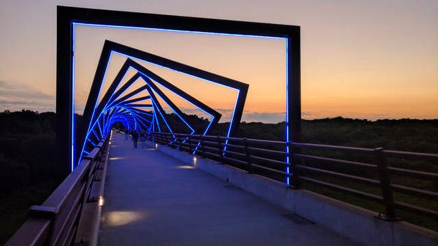 High Trestle is a 27.1 mile-long rail-trail that runs through Polk, Story, Boone and Dallas counties, from Ankeny to Woodward. File photo.