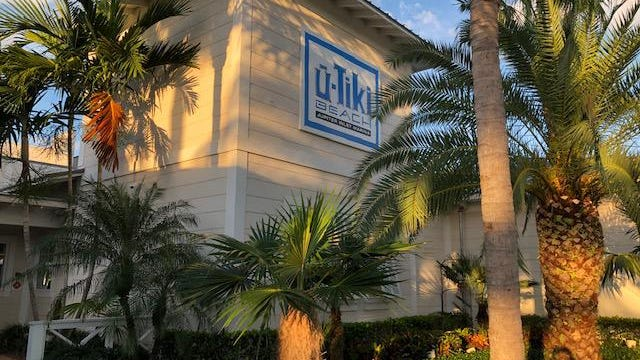 U-Tiki Beach is a restaurant with a view, perched on the Jupiter Inlet across from the lighthouse. The menu is seafood-centric, and there's a happy hour on weekdays.