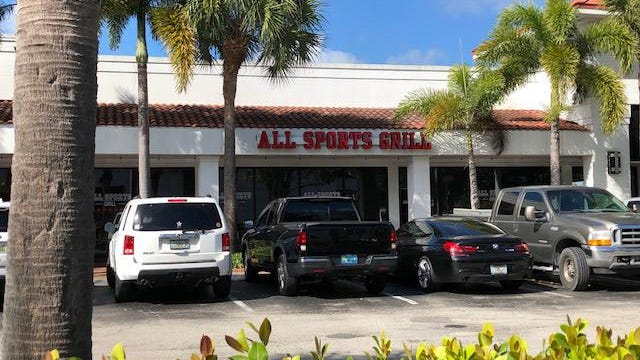 All Sports Grill boasts a large menu, two-for-one drinks and a large selection of draft beer. The restaurant has ample seating in its two dining rooms and bar area.