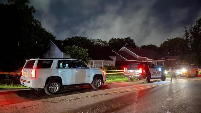 Tuscaloosa Police were called to a residential area near the intersection of Elm and Pine streets Tuesday to investigate a shooting, marking the second consecutive night of gunfire in the city.