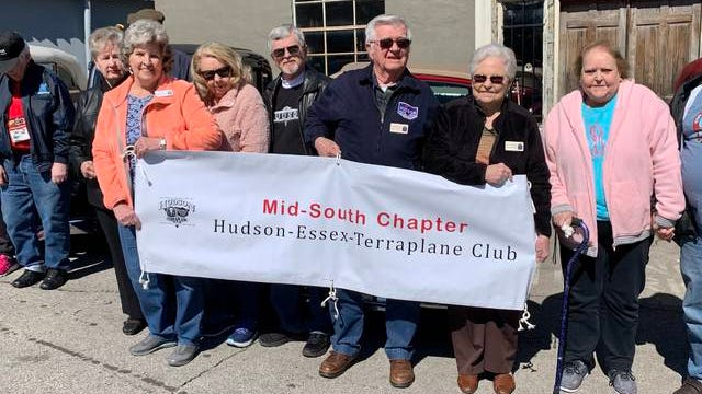 The Mid-South chapter of the Hudson-Essex-Terraplane Club gathers at the former Hudson automotive dealership, now owned by Asgard Brewing Co. & Taproom. The club visited Columbia for its quarterly meeting, which also included a visit to Mefford Motors, which was a former Chevrolet dealership.