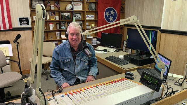 """Delk Kennedy says radio is a perfect fit for him. """"Local media and Maury County are in my blood,"""" he said."""