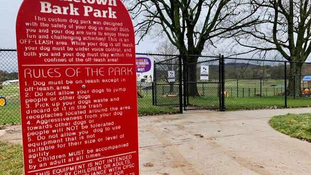 The Muletown Bark Park is located at Maury County Park and is scheduled to open Wednesday, March 18.