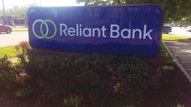 Reliant Bank.