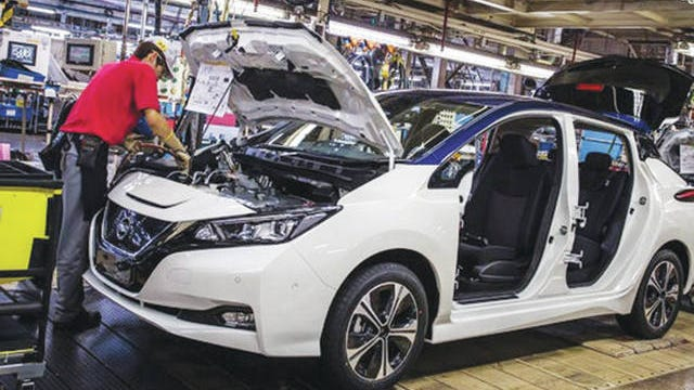 Nissan expects auto manufacturing to resume by mid-May.