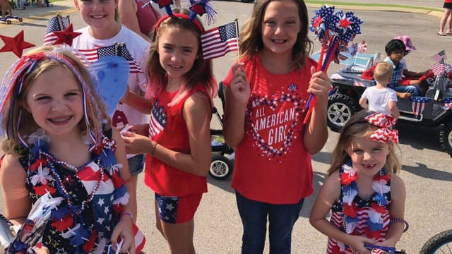Fourth of July events kick off with the seventh annual Rotary 4th of July Celebration at Riverwalk Park, which starts at 9 a.m. and will feature a parade for kids, games and more.
