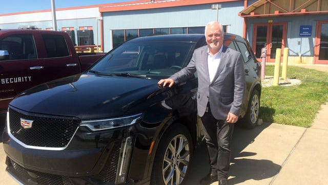 Cadillac President Steve Carlisle visits Spring Hill in April 2019 and goes with The Daily Herald on a test drive. Workers at the General Motors Manufacturing Facility Spring Hill produce the XT6, one of GM's best-selling SUVs.