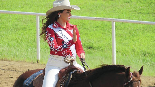 Shelby Bute was chosen Cavalcade Queen during the 74th Annual Cavalcade Rodeo. A recent graduate of Pawhuska High School, Bute is the daughter of Jeff and Terri Bute. Kelly Bland, Osage County Tourism/Courtesy