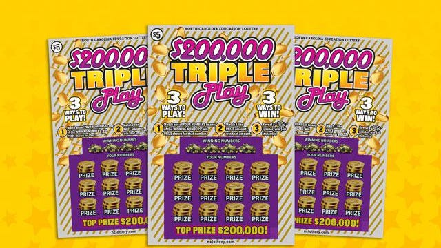 A Southport woman won big with a Triple Play ticket last week.