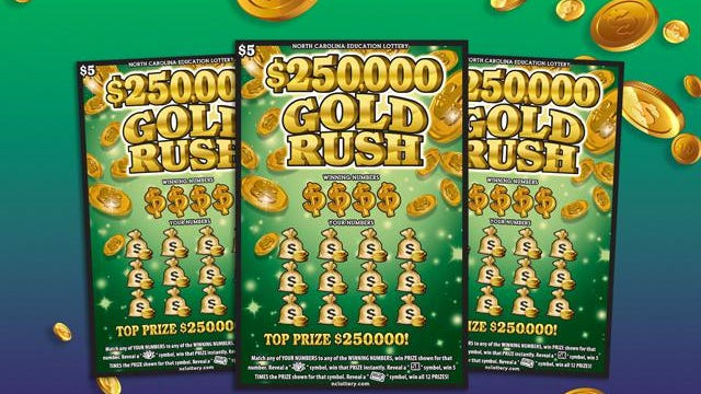 Gold Rush lottery tickets.
