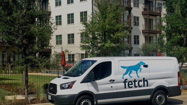 Austin-based Fetch has raised $18 million to expand its e-commerce package delivery service to apartment complexes.