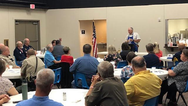 The Pecan Valley Kiwanis Club held its annual Prayer Breakfast Thursday at the Austin Avenue Church of Christ's Family Life Center.