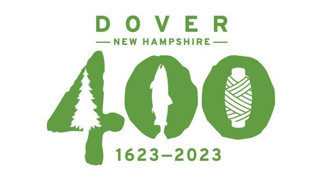 The new logo for Dover's 400th anniversary celebration.