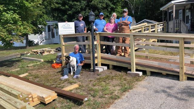 Volunteers with the Community Toolbox recently built this accessible ramp for a North Rochester resident. Like countless charities throughout the country, the COVID-19 pandemic is straining the nonprofit Community Toolbox, so the organization is focusing on large, high-impact improvement projects as it seeks more funding.