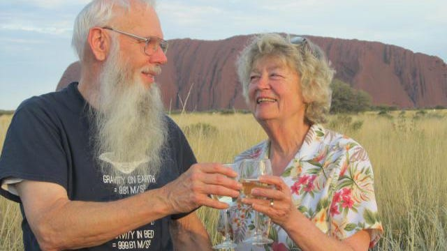 Nancy Storey and her husband took a 2.5 month long trip. This was their stop in Australia.