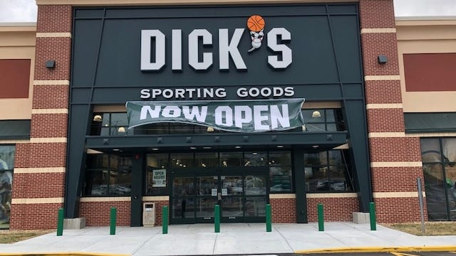 Dick's Sporting Goods is opening a new location at the Westgate Mall in Brockton. The company is celebrating its grand opening at the new 200 Westgate Drive location on Saturday, Aug. 8, 2020.