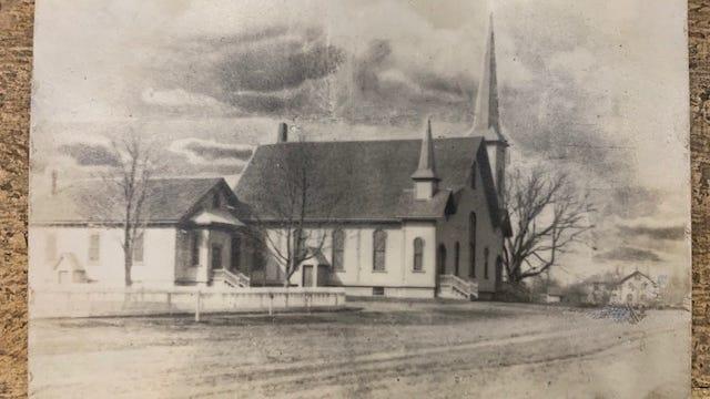 The Berkley Congregation Church before 1954.