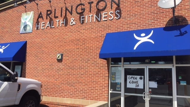 Arlington Health and Fitness, located at 801 Massachusetts Avenue, is closed for good due to the impact Covid-19 has had on the business.