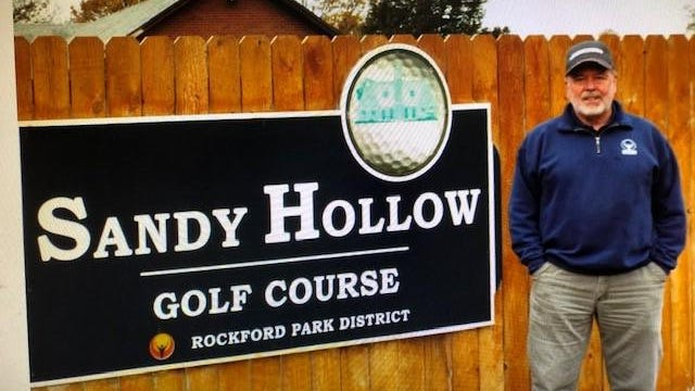 Ken Giesler just finished his 24th season as the Sandy Hollow golf course superintendent and will retire in February after working for the Rockford Park District for 48 years.