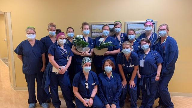 To celebrate its 70th year in business, Eastern Floral began sending arrangements to nurses at every major local hospital over the summer.