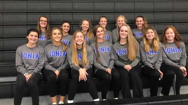 Ionia volleyball is ready to get back to work in the gym.