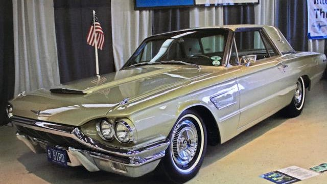 Steven and Norma Johnson's 1965 Ford Thunderbird was a featured car at the recent Carlisle Ford Nationals Car Show. The couple spent three decades restoring their beloved car to factory specifications.