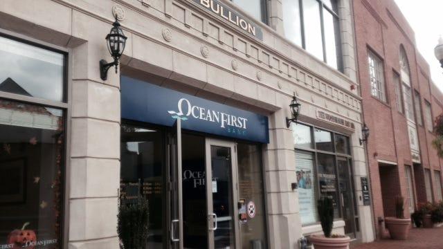 An OceanFirst Bank branch in Red Bank.