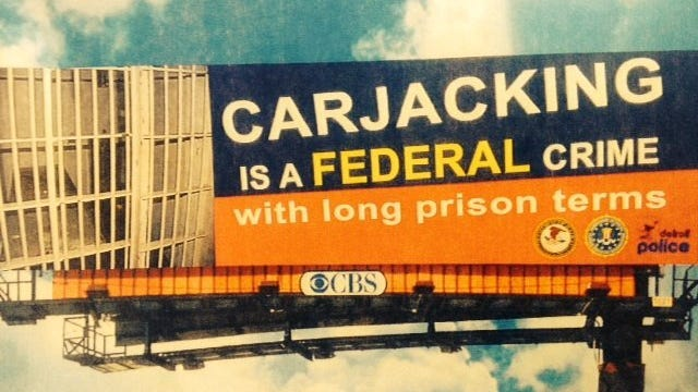 Feds are cracking down on carjacking.