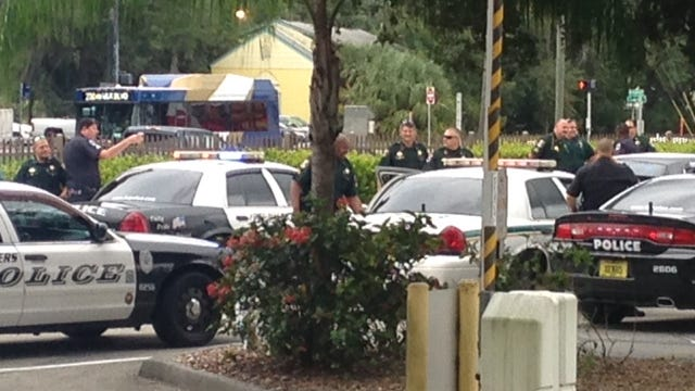 Lee County Sheriff's Office and Fort Myers Police Department units responded to The News-Press at 2442 Dr. Martin Luther King Jr. Boulevard around 12:50 p.m. Tuesday. Two people were reportedly detained for questioning related to a possible robbery.
