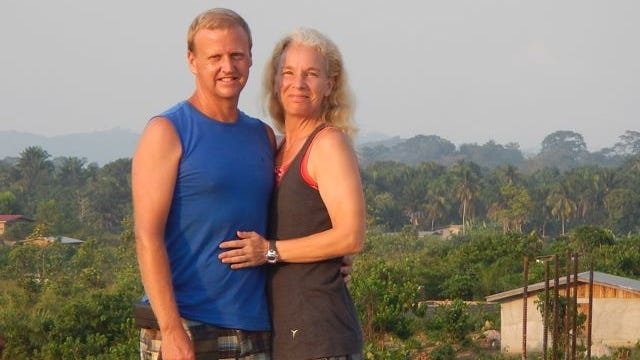 Travis and Gina Sheets, relocated from Clinton County to Liberia's second-largest city, Ganta, where they do agricultural outreach for a nonprofit organization.