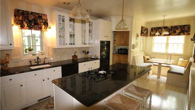 Despite its age, the house as undergone renovations like the kitchen, accoring to Realtor Mike Larson.