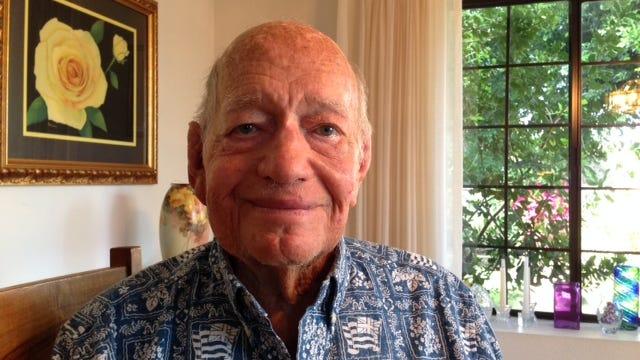 Ben Laflin World War II Veteran U.S. Navy Bermuda Dunes
