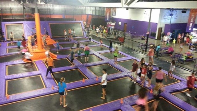 Altitude Trampoline Park said it plans to open an indoor trampoline park in Southtown Plaza by April..