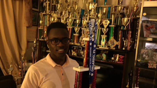Joshua Colas of White Plains is a chess champion, a prodigy whose ambition is to become one of the world's best players.