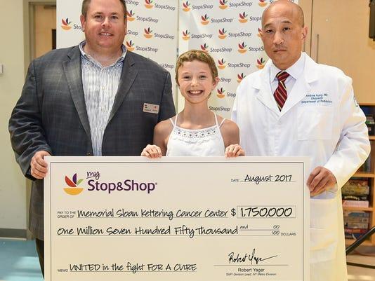 Ringwood Hannah Boorse Stop & Shop Memorial Sloan Kettering