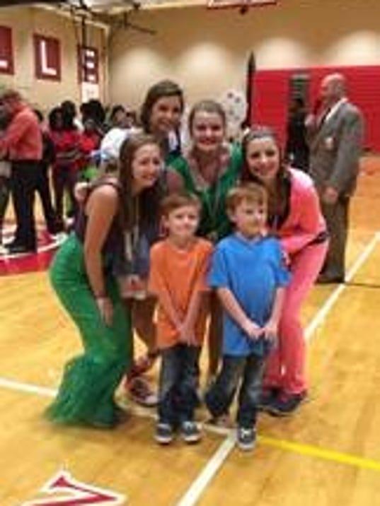 Wish Kids at Greenville High