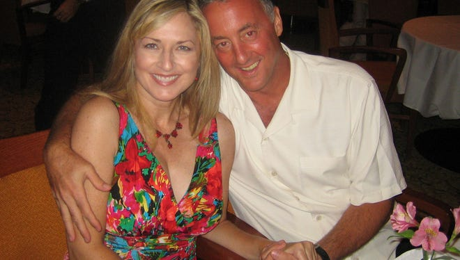 Allen Pannell and Amy Foster