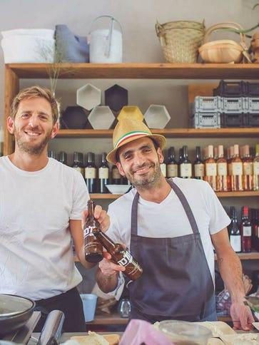 Eres Golko and fellow chef and business partner Shlomi