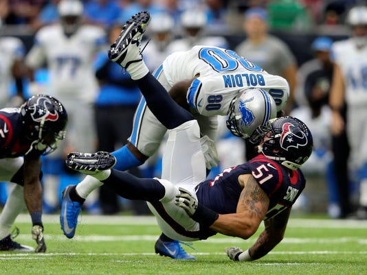 NFL: Detroit Lions at Houston Texans