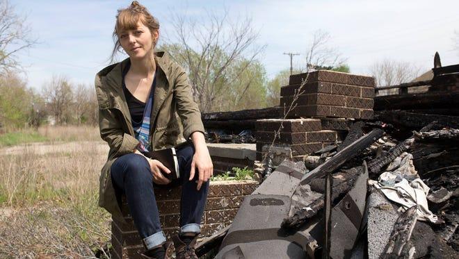 "Italian journalist Francesca Berardi is author of the new book, ""Detour in Detroit."""
