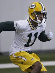 Green Bay Packers rookie wide receiver Trevor Davis