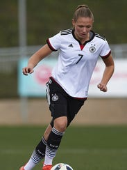 German forward Marleen Schimmer is among five international